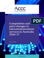 Competition and price changes in telecommunications services in Australia 2016-17.pdf