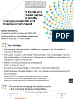 Recent Trends and Prospects in the Asian Capital Markets under the Rapidly Changing Economic and Financial Environment