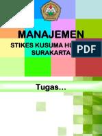 1. Manajemen Org