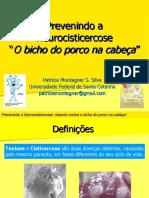 Prevenindo a Neurocisticercose - Publicado com permissão do Dr Paulo Cesar Trevisol - Bittencourt e da autora