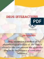 Unit-2 Drug Interactions