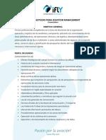 Materias Para Lic Aviation Management