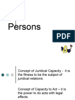 Persons and Family Relation_Civil Personality