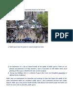 10 Principles of Public Spaces