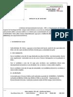 Edital Curso de Frances