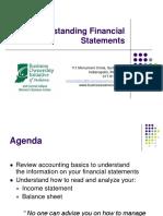 Understanding Financial Statements Revised 2012 10-7-12