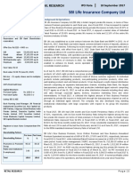 Sandy Summer Internship Report SBILife