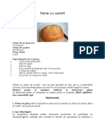 Referat-Paine Cu Cartofi
