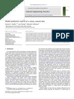 Model Predictive Control of a Rotary Cement Kiln