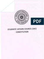 Constitution of Sac