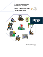 EOS Database Administration L3 & L4