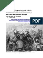 qué es la Leyenda Negra española sobre la conquista de América y qué tiene de cierto.docx