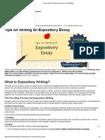 expository essays