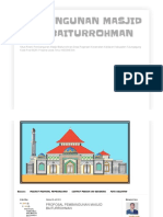 Proposal Masjid Baiturrohman