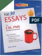 Top 30 Essays by Zahid Ashraf.pdf