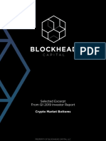 Crypto Market Bottoms