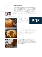 Anleitung Halloween-Kürbis