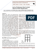 Novel Approach on Performance-Based Aseismic Design Based on FEMA Requirements