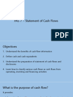 PAS 7 - Statement of Cash Flow