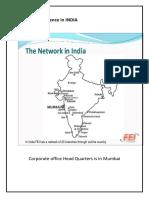 Fei Cargo Prescence in INDIA.docx