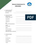 Daftar Riwayat Hidup Dan Surat Pernyataan