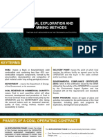 Coal Exploration and Mining Methods - The Role of Geologists in Technical Activities.pptx