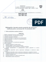 Bibliografie Si Tematica Concurs 15.10.2014