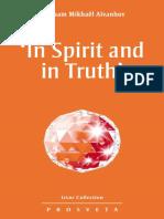 Aivanhov, Omraam Mikhael - 'in Spirit and in Truth' (Izvor Book 235)