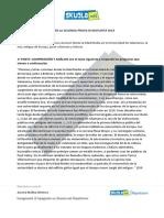 Simulazione Linguistico Spagnolo 3 Soluzione - traccia 2 aprile
