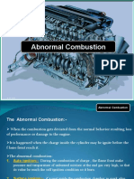 Abnormal Combustion in SI Engine