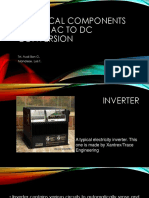Electrical Components Used in Ac to Dc Conversion