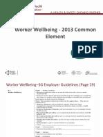 2013CommonElement WorkerWellbeing