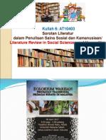 Kuliah 6- Literature Review.ppt