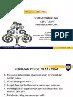 Dr. Satibi Sistem Pendukung Kep Kelola Obat Stb 0317