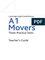 A1 Movers Teacher Guide