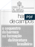 CAMPOS, Haroldo de - O Sequestro Do Barroco