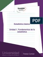 Unidad1.Fundamentosdelaestadistica