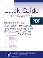 Substance Use Treatment Phisical Disabilities