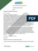 Soluzione Francese, Completa Liceo Linguistico SIMULAZIONE 2 aprile