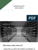Presentation on Data Centers