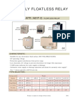 Anly Floatless Relay AFR-1