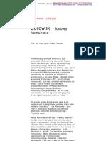 Borowski - Ideowy Komunista -- Prof