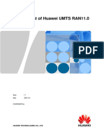Feature List of Huawei UMTS RAN11.0 V1.7(20090331)