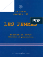 Traduction Coran Sourate 4 Les Femmes Fakhri