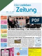 Koblenz Erleben / KW 43 / 29.10.2010 / Die Zeitung als E-Paper
