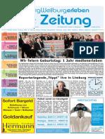 Limburg-Weilburg Erleben / KW 43 / 29.10.2010 / Die Zeitung als E-Paper