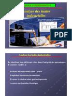 Analyse Des Huiles Industrielles