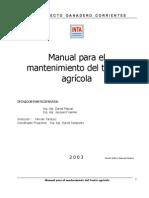 Manual Para El Mantenimiento Del Tractor Agricola