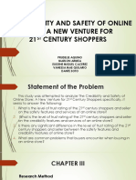 The Credibility and Safety of Online Store
