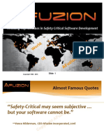 Avoiding Top Mistakes in Safety Critical Software Development